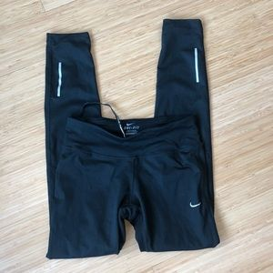 Nike sz XS running tights black classic